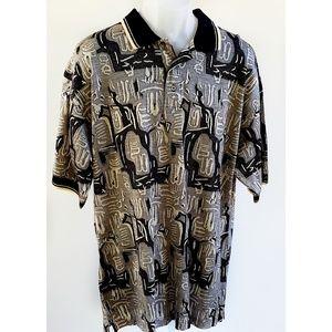 Greg Norman Bud Light Golf Polo Cotton Shirt L